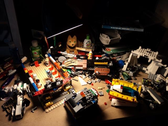 A Boy and his Legos
